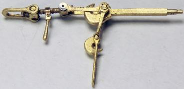Doppelhakenkupplung, 1 Paar, Bausatz Nr. 200a
